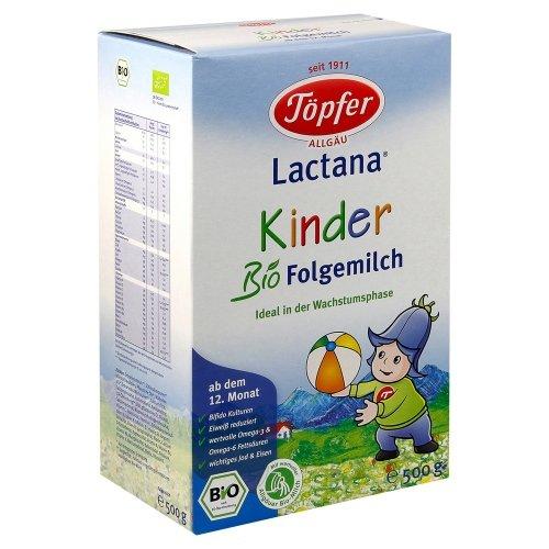 Topfer Лактана Бебешко Био адаптирано мляко Киндер 500 гр. 12м.+